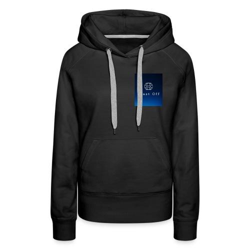 Blast Off Logo - Women's Premium Hoodie