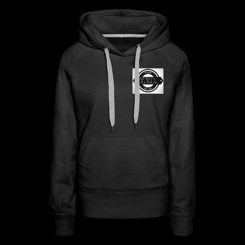 tyd official logo - Women's Premium Hoodie