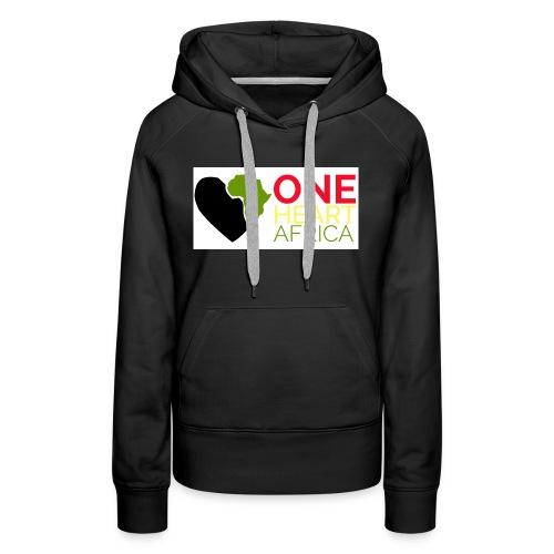 ONE HEART AFRICA - Women's Premium Hoodie