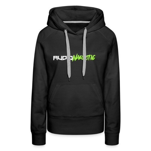 Lime Green Audio Narcotic - Women's Premium Hoodie