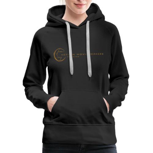 AMMT Logo Modern Look - Women's Premium Hoodie