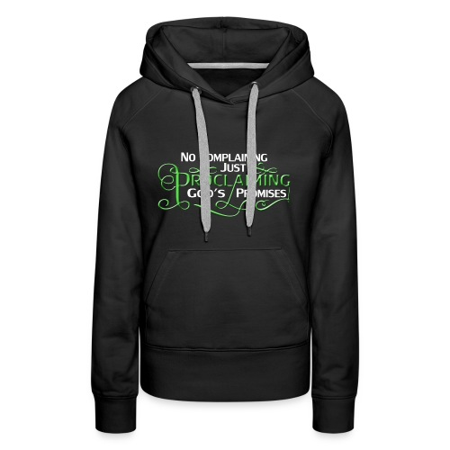 Green Proclaim - Women's Premium Hoodie