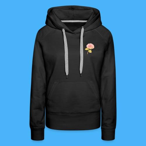 Pink Floral - Women's Premium Hoodie