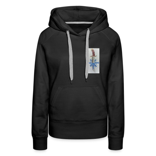 Snow assassin emblem - Women's Premium Hoodie