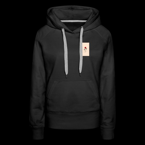 roses and hands - Women's Premium Hoodie