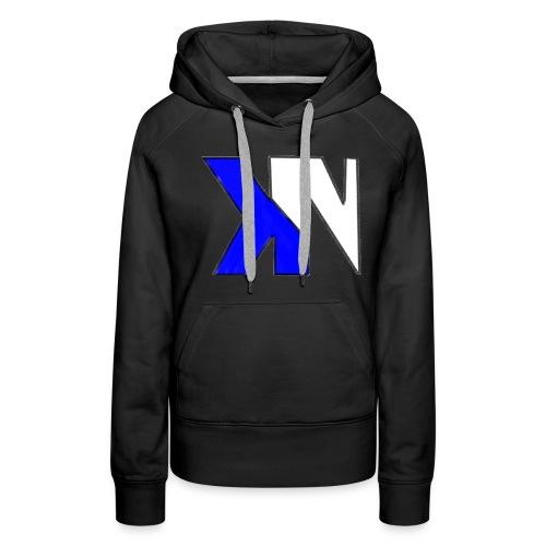 KN Black Hoodie - Women's Premium Hoodie