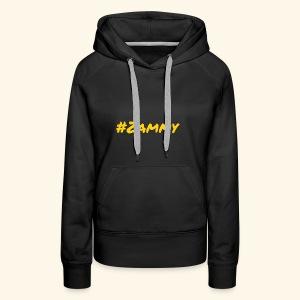 Gold #Zammy - Women's Premium Hoodie