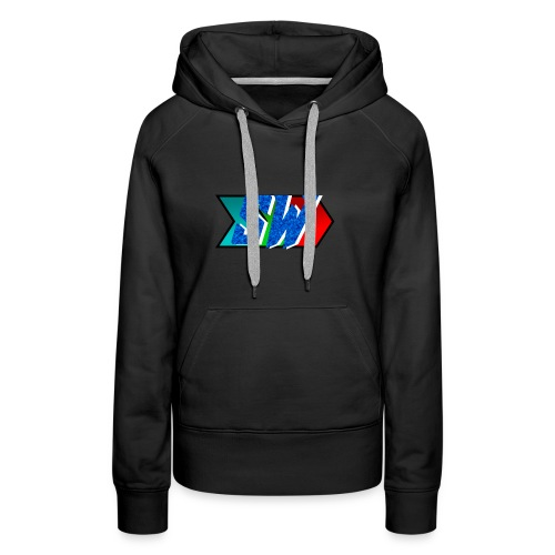 Salty World Logo - Women's Premium Hoodie