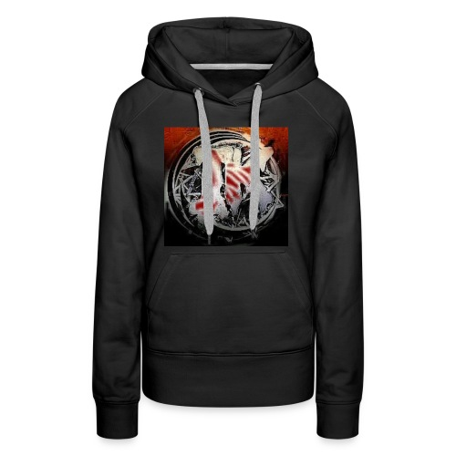 Insane Killa Logo Design - Women's Premium Hoodie