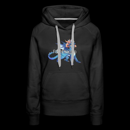 FaithDragon - Logo (Faith) - Women's Premium Hoodie
