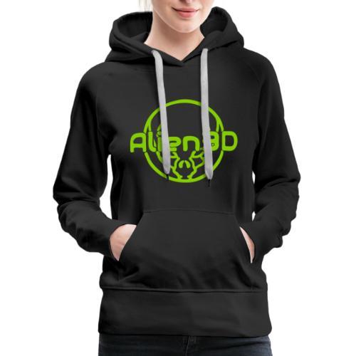 Alien3D Logo - Women's Premium Hoodie
