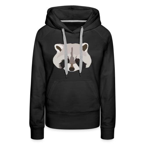 Raccoon - Women's Premium Hoodie