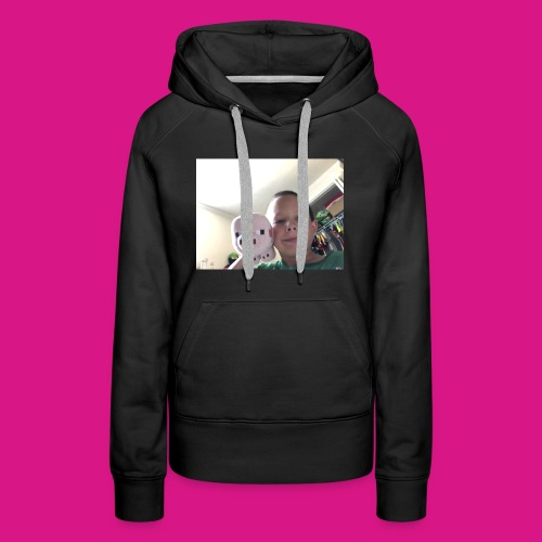Wiggie and Aidan, Sitting in a tree. K I S S I N G - Women's Premium Hoodie