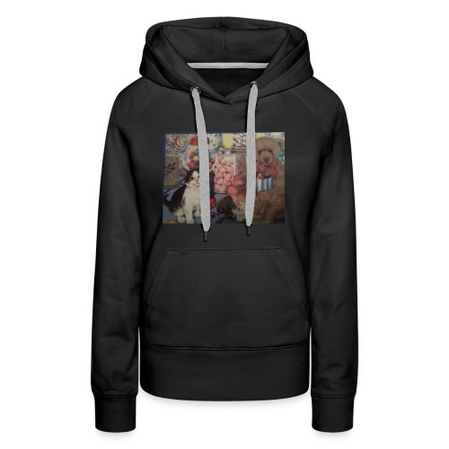 Candy and animals - Women's Premium Hoodie