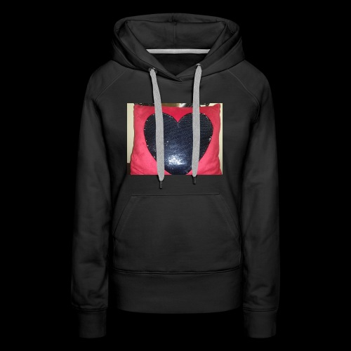 Heart pillow - Women's Premium Hoodie