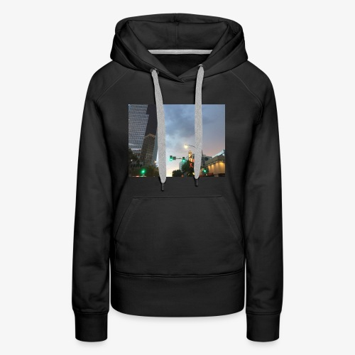 Tucson Rainy Weather - Women's Premium Hoodie
