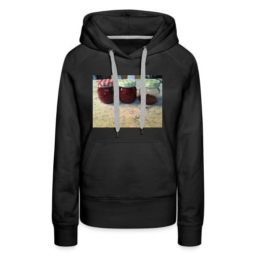 raspberry jam - Women's Premium Hoodie