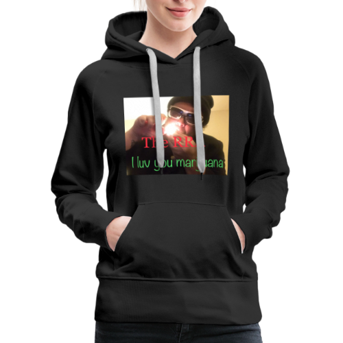 RRA I LUV YOU MARIJUANA - Women's Premium Hoodie