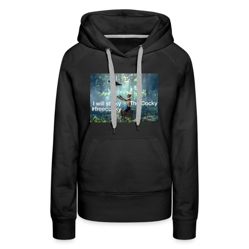 Stalky The Cocky Clothing - Women's Premium Hoodie