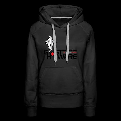 Ghostware Wide Logo - Women's Premium Hoodie