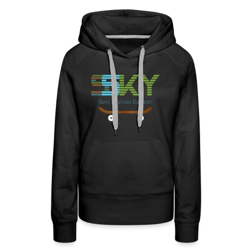 SSKY board logo - Women's Premium Hoodie