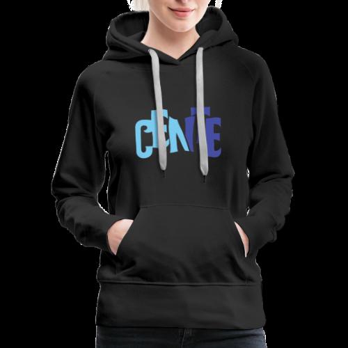 Cente - Women's Premium Hoodie