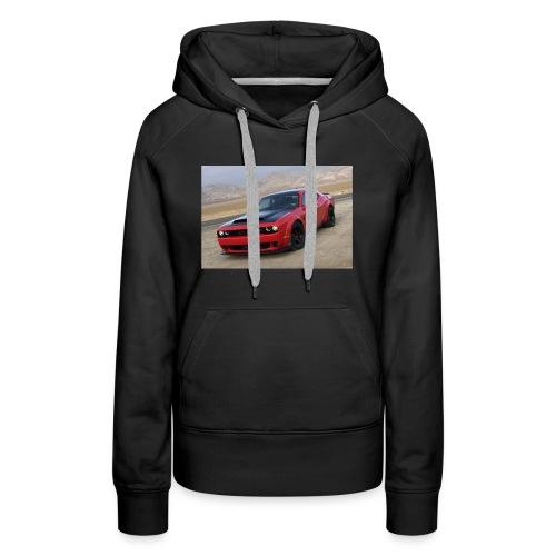 2018 Dodge Demon Prairie Front - Women's Premium Hoodie