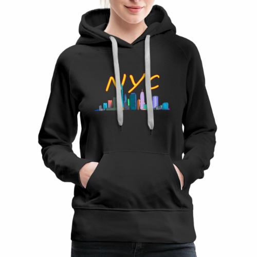 New york my love - Women's Premium Hoodie