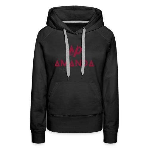 Amanda Playwith Logo Shirt - Women's Premium Hoodie