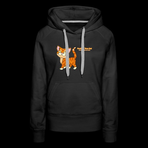 Smiling Tom, The Positive Tom Cat - Women's Premium Hoodie