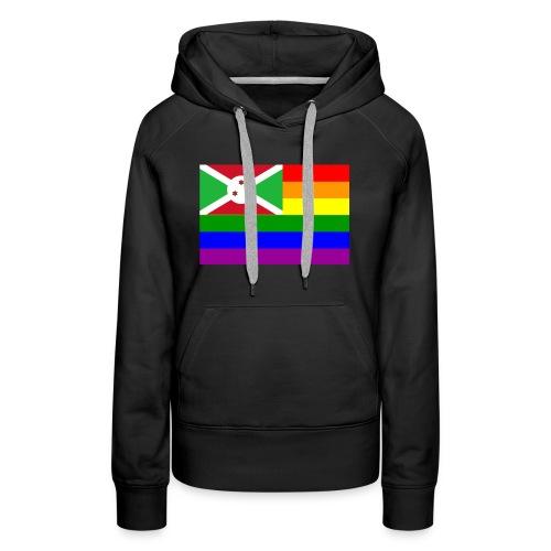 burundirainbowflag - Women's Premium Hoodie