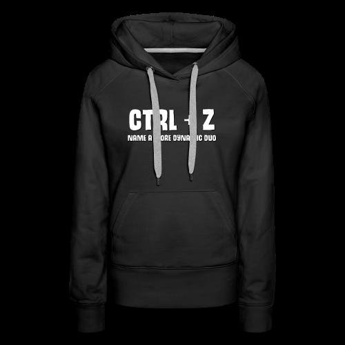 ctrl + z - Women's Premium Hoodie