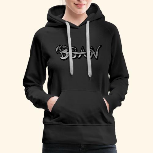 B3AN B&W - Women's Premium Hoodie