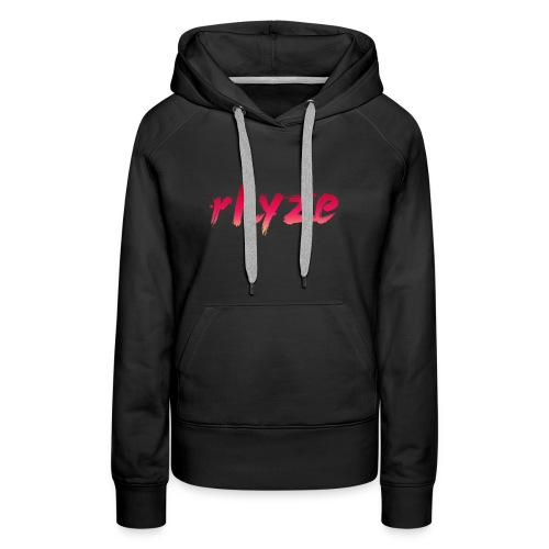 Rhyze Lettering - Women's Premium Hoodie