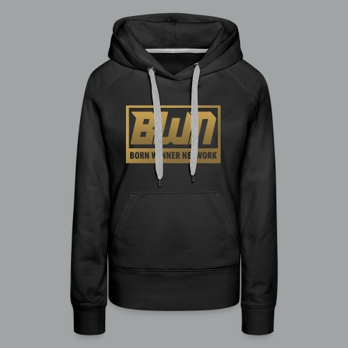 BWN (Gold) - Women's Premium Hoodie