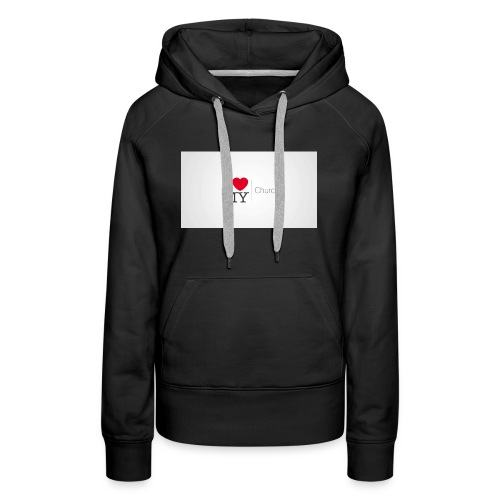 I love church - Women's Premium Hoodie
