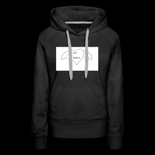 An inspiration from a doodle - Women's Premium Hoodie
