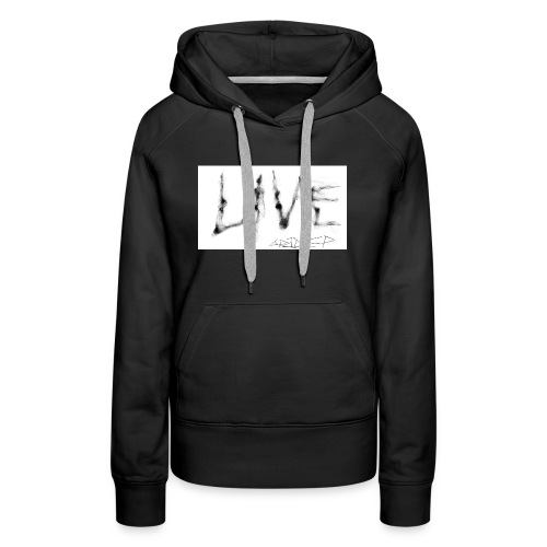 LIVE t-shirt - Women's Premium Hoodie