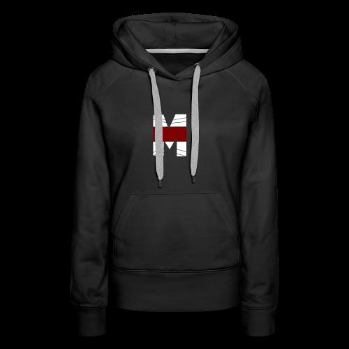 WHITE AND RED M Season 2 - Women's Premium Hoodie