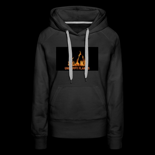 unhappy flames - Women's Premium Hoodie