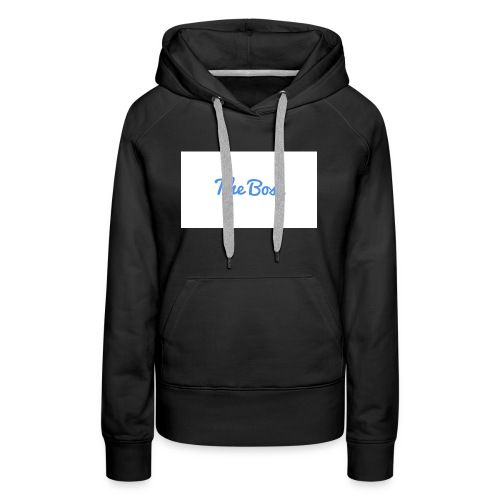 The Boss signture - Women's Premium Hoodie
