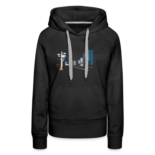 City shirt - Women's Premium Hoodie