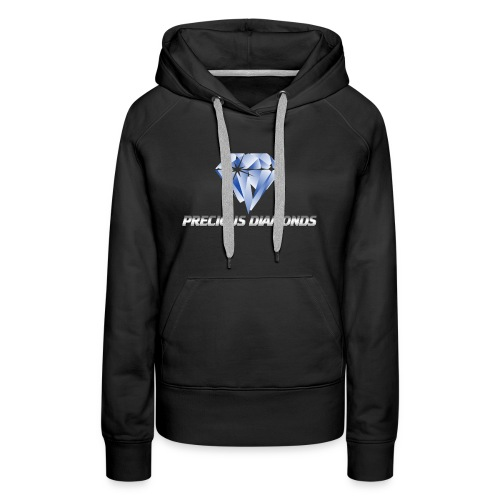 PRECIOUS DIAMOND NEW LOOK 2 - Women's Premium Hoodie