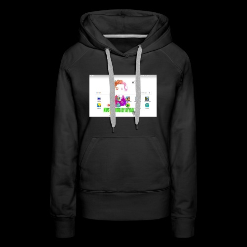 My ipad home page cup - Women's Premium Hoodie