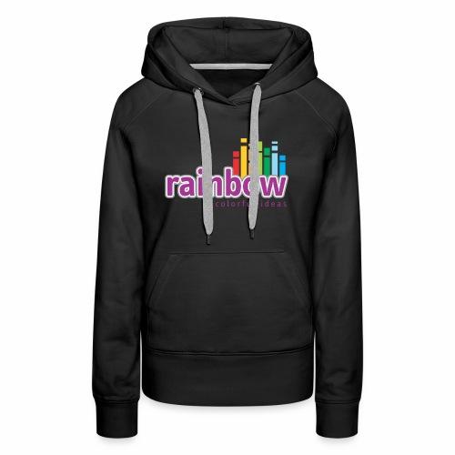 Rainbow Colorful Ideas - Women's Premium Hoodie