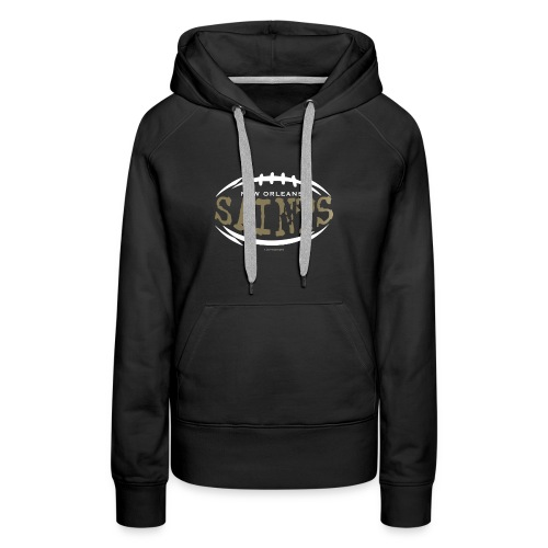SAINTS FOOTBALL TSHIRT - Women's Premium Hoodie