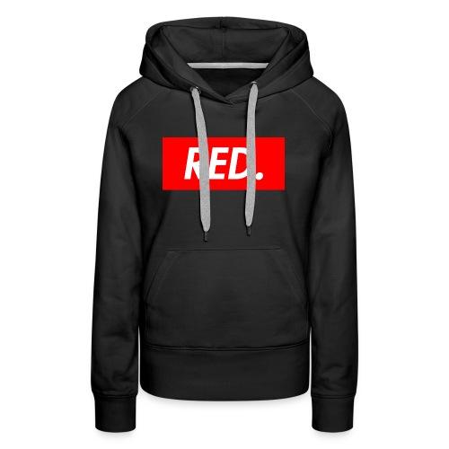Red. - Women's Premium Hoodie