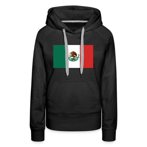 Mexican flag - Women's Premium Hoodie