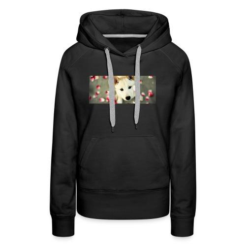 husky type pup - Women's Premium Hoodie