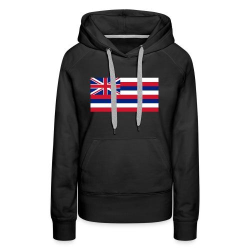 Hawaiian Flag - Women's Premium Hoodie